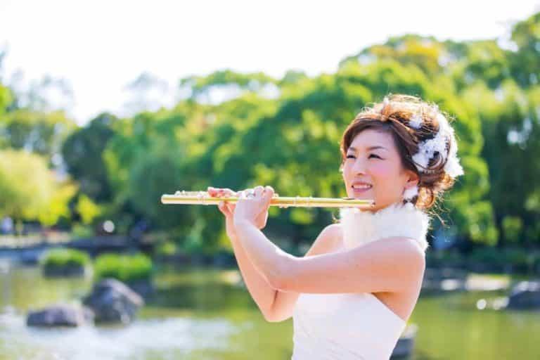 フルート フルーティスト akiko yamada flute flutist 音楽 ドレス ネイル コンサート 山田明子 衣装 フルート奏者 音楽家 山田明子